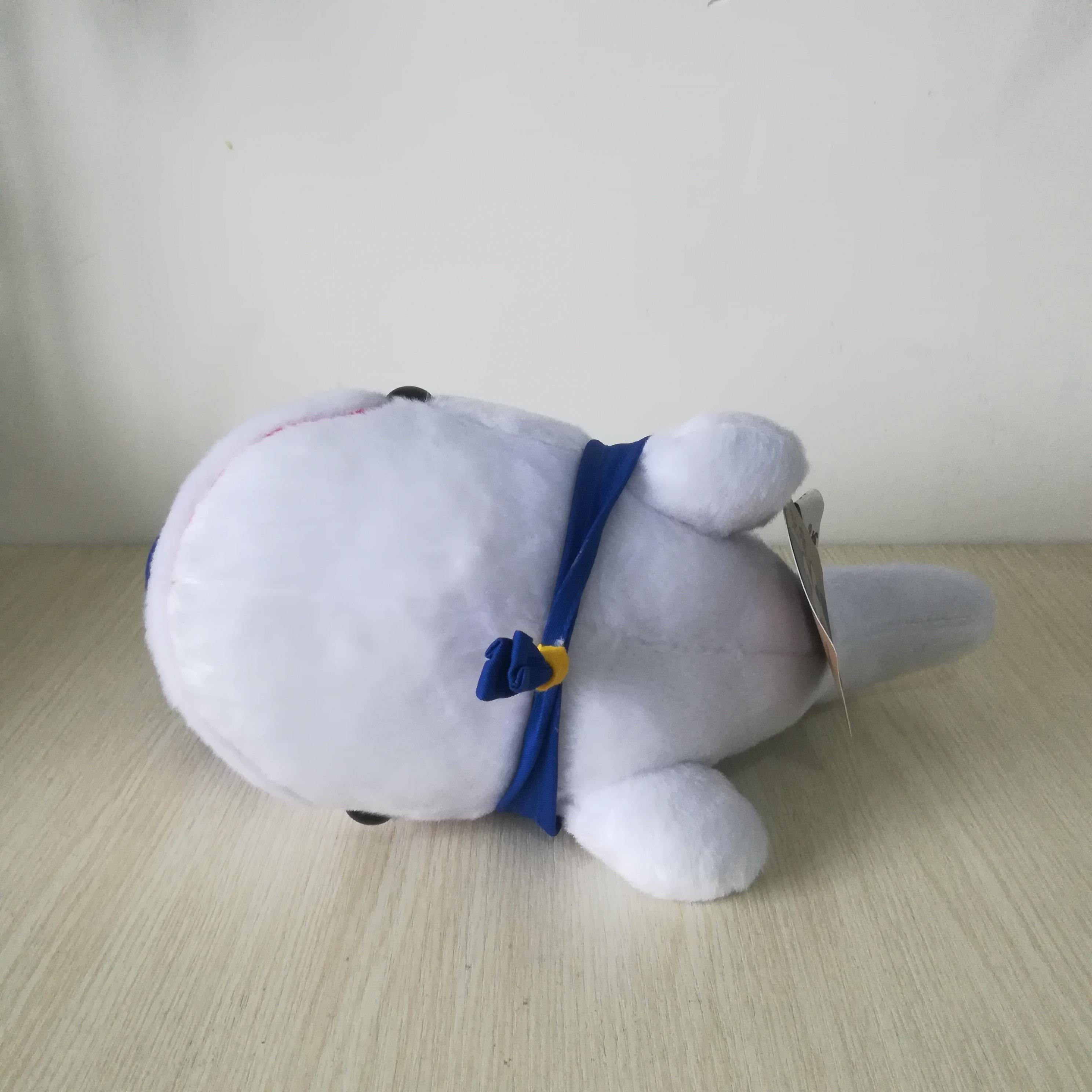 Jouet en peluche baleine design marine environ 30cm dauphin doux poupée cadeau d'anniversaire b0862 - 4