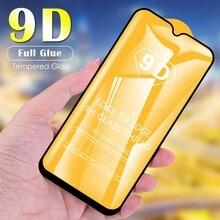9D de cristal para Oppo RX17 R17 Pro R15 Neo R15x Protector de pantalla de vidrio templado de la cubierta completa película protectora