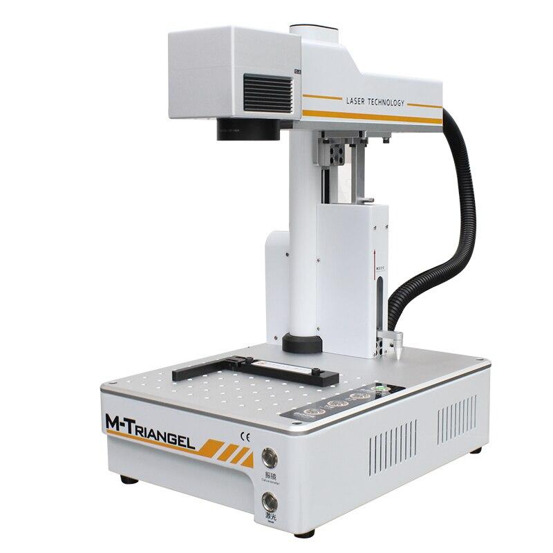Лазерная разделительная машина для iPhone X XS Max 8 8 + заднее устройство для снятия стекла ЖК-рамка для ремонта металла DIY лазерная маркировка авт...