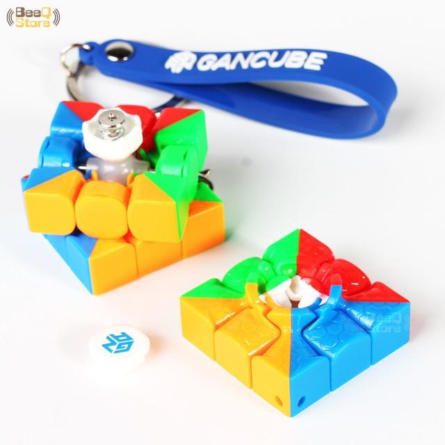 GAN330 Speed Cube 3x3x3 Keychain Cube 3x3 Cubo Magico 3x3x3 Magic Cubes GAN 330 Speedcube Cubeing Cuber Puzzle Toy 4