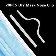Elastic Cord Crafts DIY Rubber Mouth-Mask Bridge-Clips Nose Disposable