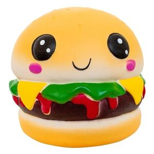 Squishy Soft Hamburger Squishi