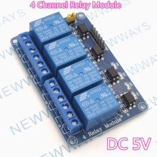 4 Channel Relay Module DC5V Relay Control Board With Optocoupler For A