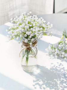CHENCHENG Fake Gypsophila Arrangement Floral-Bouquets Artificial-Flowers Fall Wedding