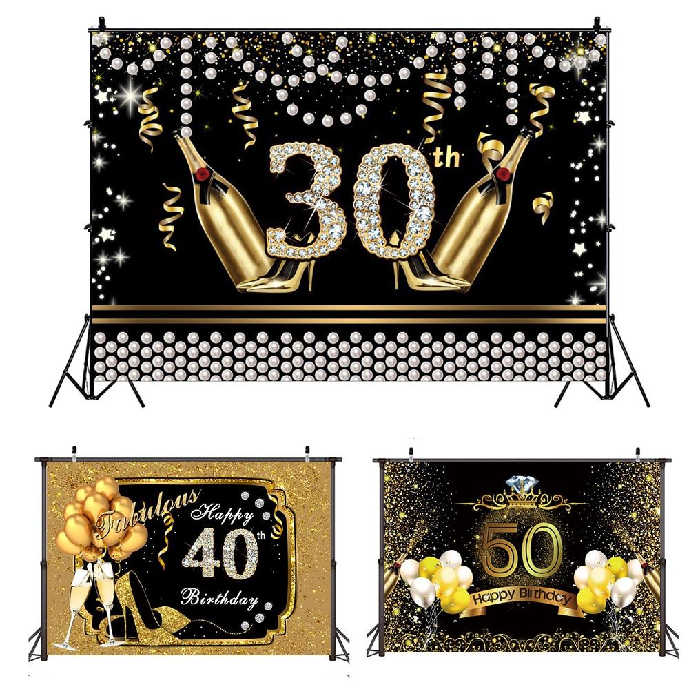 Тканевые украшения Amawill, 21, 30, 40, 50, 60 лет, день рождения, 21, 30, 40, 50, 60 лет