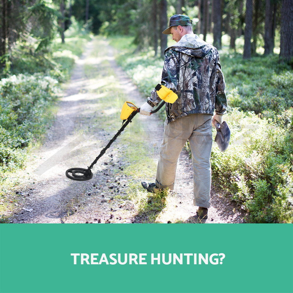 Deep Underground Metal Detector High Sensitivity LCD Display Screen Searching Gold Digger Treasure Hunter Finder Scanner