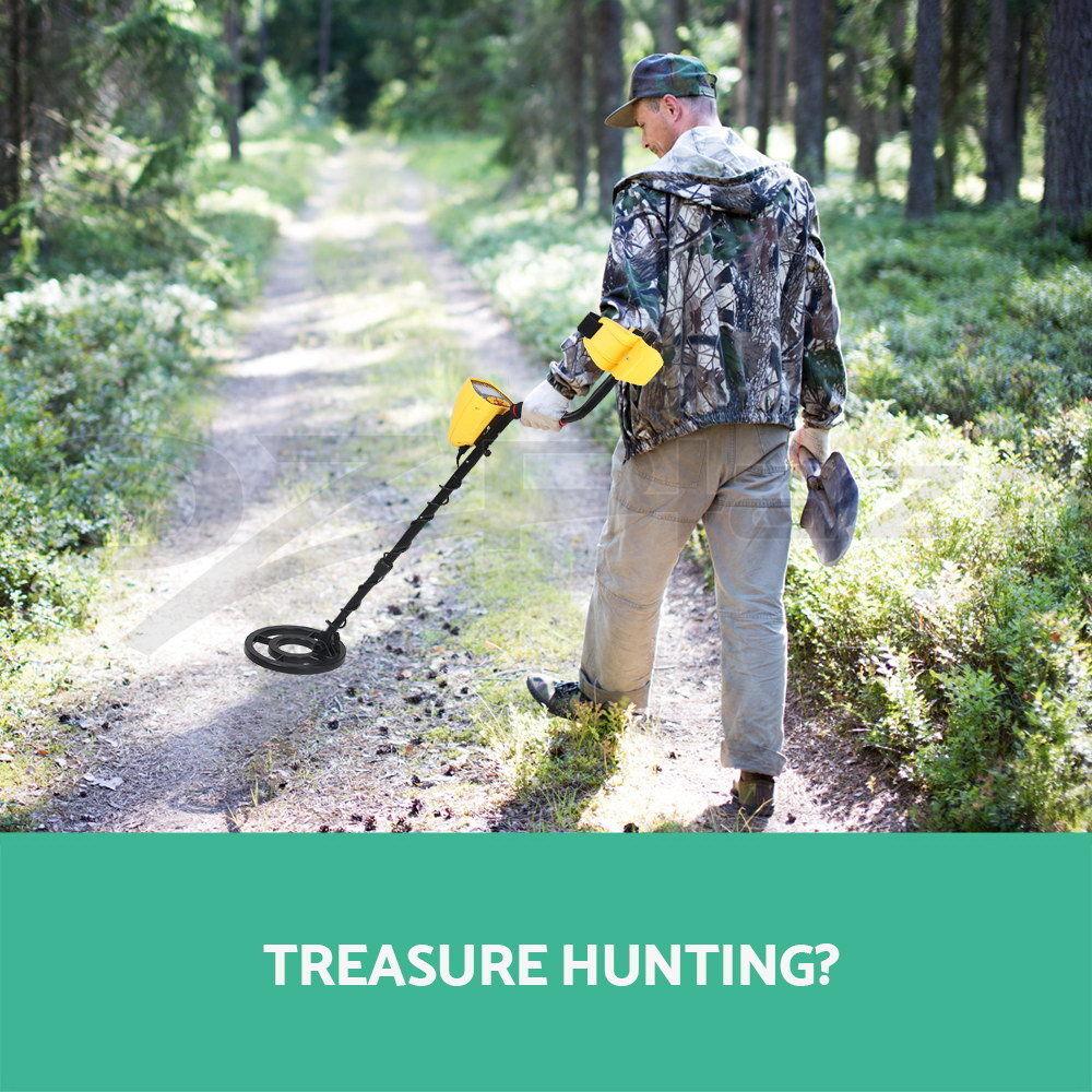 Deep Underground Metal Detector High Sensitivity LCD Display Screen Searching Gold Digger Treasure Hunter Finder Scanner