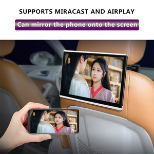 Image 3 - 2PCS 11.6 Inch Android 9.0 Car Headrest Monitor 1920*1080 HD 1080P Touch Screen WIFI/Bluetooth/USB/SD/HDMI/FM MP5 Video Player