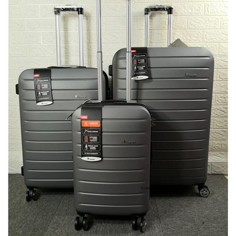 """Bagaj ve Çantalar'ten Bagaj Setleri'de CARRYLOVE 20 """"24"""" 28 """"inç dönücü ABS genişletici 3 adet tekerlekli çanta seti haddeleme bagaj bavul seti seyahat için'da  Grup 1"""