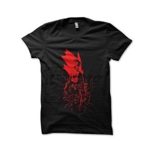 Мужская футболка, футболка hellboy, черные футболки, женская футболка