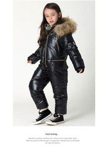 Image 3 - 年長の子供新しいファッションウォームシャムダウンジャケット 3