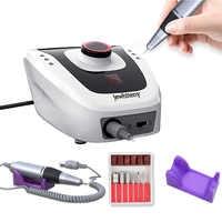 32W 35000RPM Pro aparato eléctrico de taladro de uñas para limas para manicura y pedicura con cortador de uñas artístico
