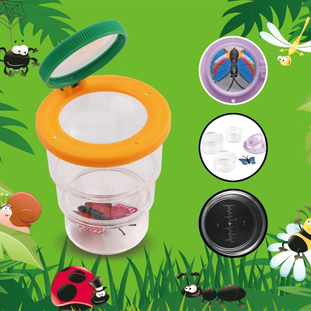 Bug Box Magnify Insect Viewer Magnifying Glass Insects Observing Experiments Science School Tool Children Toys