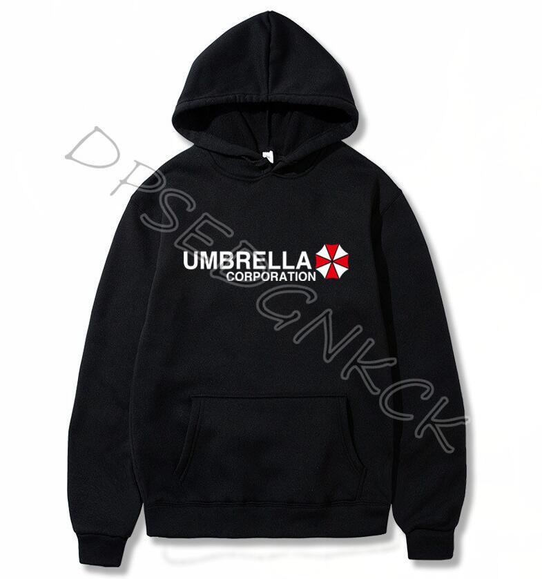 Umbrella Corporation Men's Brand Fashion Brand Men's Hoodies Brand  Male Casual Hoodies Sweatshirts Men And Women GIFT A34