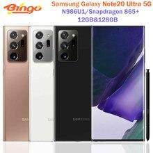 Samsung Galaxy Note 20 Ultra 5G Note20 N986U1 Octa Core Snapdragon 865 6.9