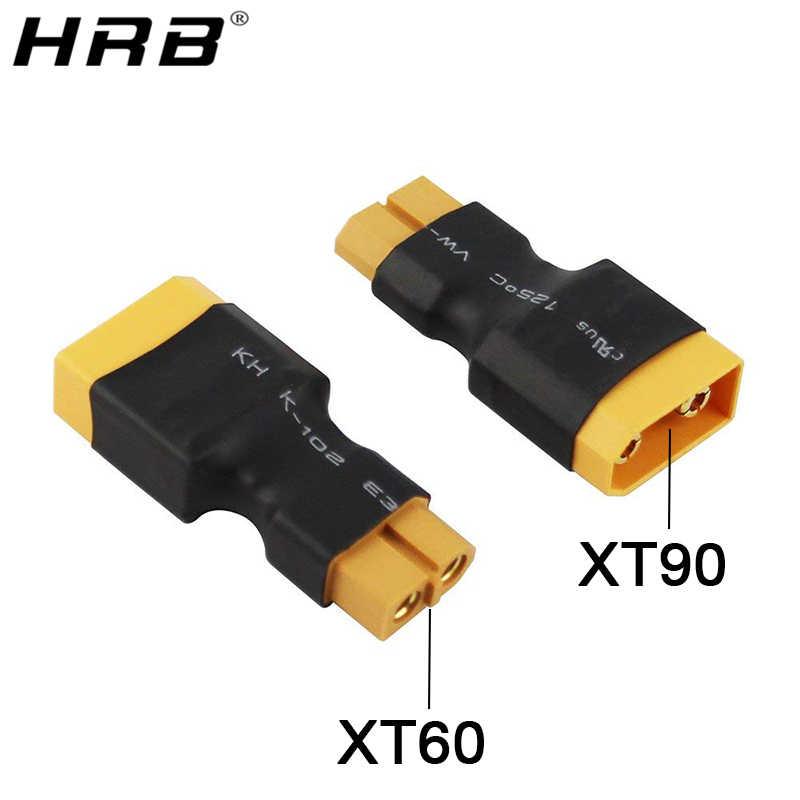 Amass adaptador XT60 a XT90 EC5 EC3 TRX T decanos XT30U mujer conectores macho de 4,0mm a Banana Plug RC batería Lipo piezas de Control DIY