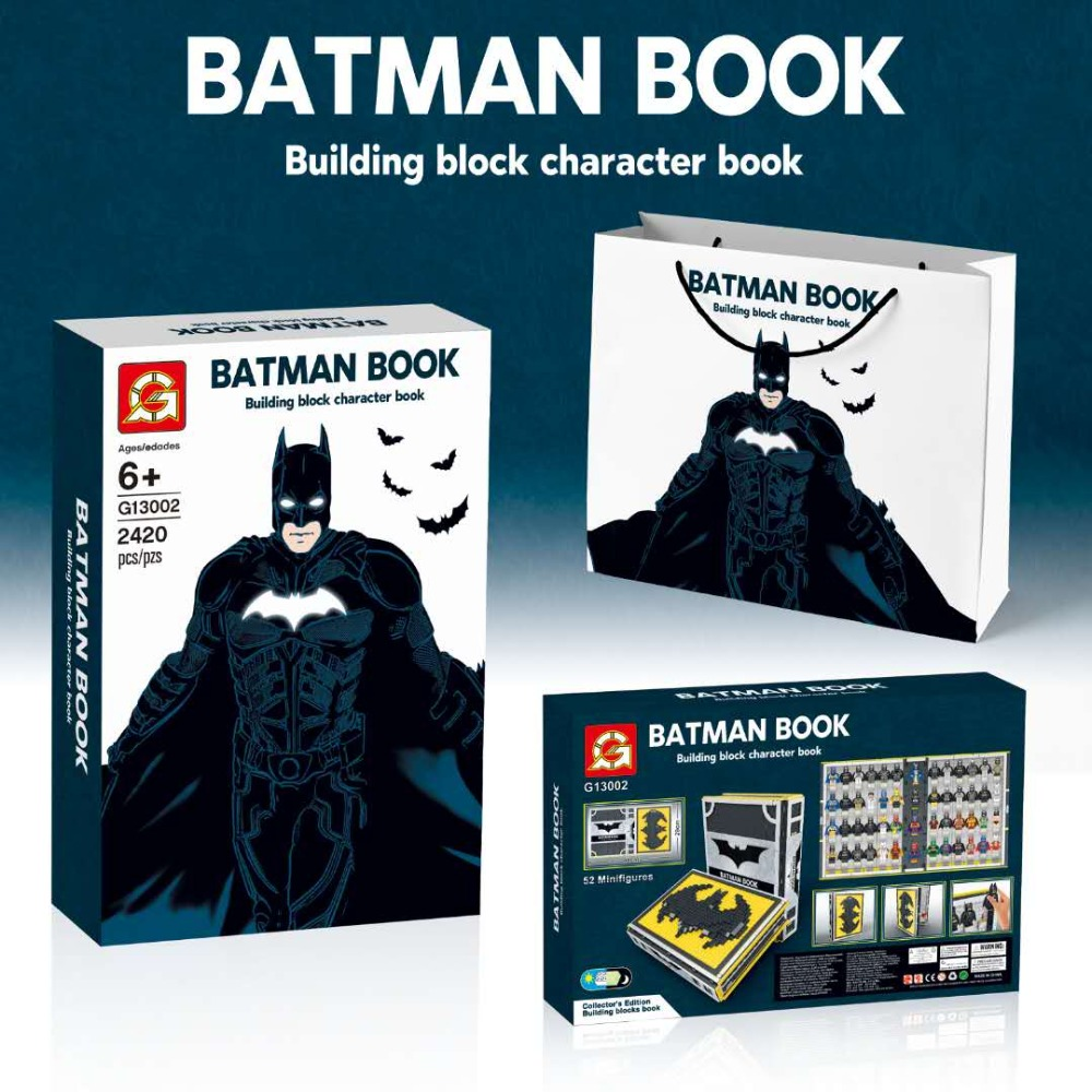 G brand g13002 the batman collection book