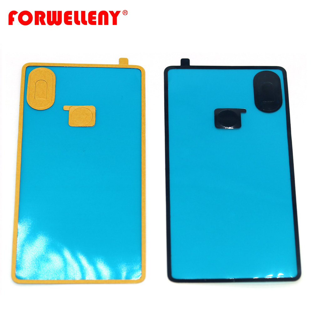 For <font><b>xiaomi</b></font> mi8 <font><b>mi</b></font> <font><b>8</b></font> SE Back <font><b>battery</b></font> door Glass <font><b>cover</b></font> Adhesive Sticker glue image