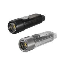 SUCHME Flashlight Portable Lighting TIKI TIKI LE 300 Lumens MINI futuristic Keychain light USB Rechargeable Exclusive Item