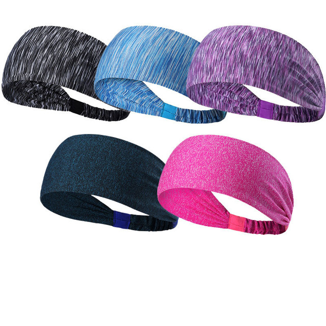 Yoga Headband Fitness Sweat-absorbent Quick-drying Wicking Belt Elastic Running Hairband Headband