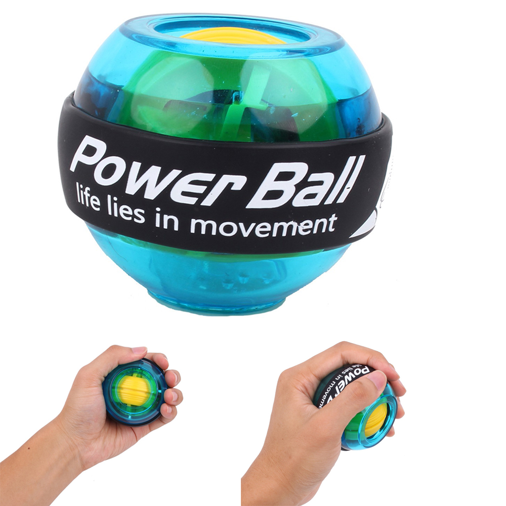 Gym Power Ball Gyroscope Wrists Powerball Exercise Equipment Hand Grip Exerciser Gyro Fitness Ball Muscle Relax