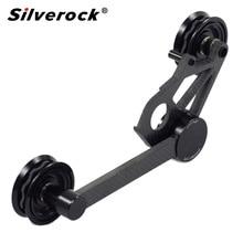 Silverock Carbon 3 geschwindigkeit Kette Spanner Schaltwerk Für Brompton Faltrad Teile mit Guide Räder Schaltwerk 112g