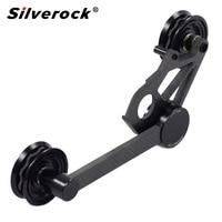 silverock Ultralight Carbon chain Tensioner Derailleur Ceramic Bearing for Brompton Folding Bike 112g