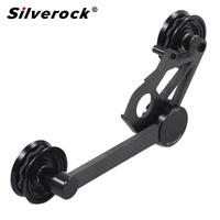 silverock Ultralight Carbon chain Tensioner Derailleur Ceramic Bearing for Brompton Folding Bike 112g
