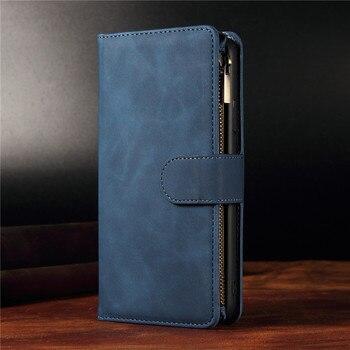 Retro Flip Leather Case for Samsung Galaxy A01 A10 E A11 A12 A20E A21 S A31 A41 A50 A51 5G A52 A70 A71 5G A72 Cards Wallet Cover 2