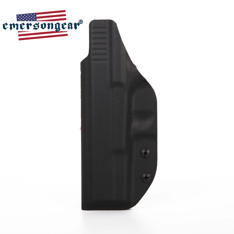 Image 3 - emersongear Emerson Tactical Glock Holster Inside Concealed Carry Waistband Pistola Belt Clip Accessories Right Hand-in Holsters from Sports & Entertainment