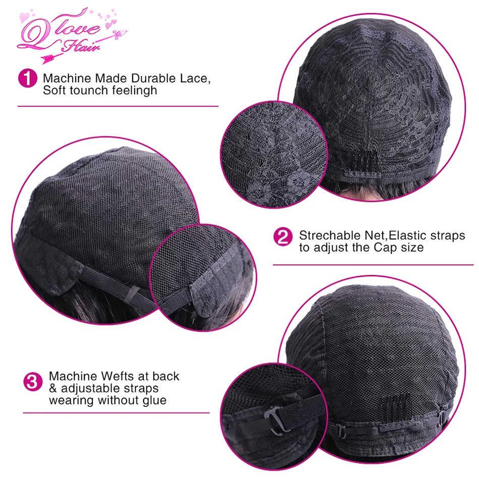Pelucas rectas de encaje completo, peluca brasileña para mujeres, pelucas con encaje Frontal, cabello humano con pelo de bebé sin pegamento, pelucas de encaje completo, 150% de densidad