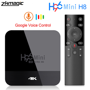 Image 1 - ZKMAGIC Android 9.0 Tv box H96Mini H8 Rockchip RK3328 1GB 8GB 16GB Android box 2.4/5.0G WiFi Google Play Android Tv box