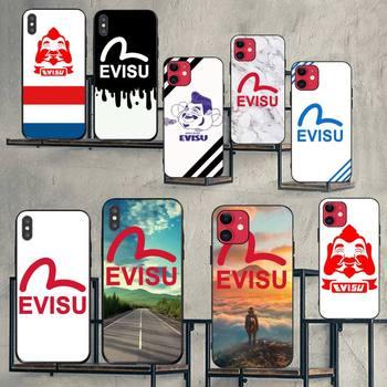 NBDRUICAI Mode trend denim marke evisu Telefon Fall Abdeckung für iPhone 11 pro XS MAX 8 7 6 6S plus X 5S SE XR fall