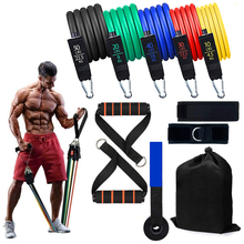 Strength Training Tension-Band Fitness-Equipment Yoga Tubes Pull-Rope Latex Home Gym