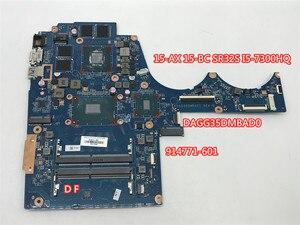 Материнская плата для ноутбука HP Pavilion, 2 Гб, 914771-601, 914771-001, 15-AX, 15-BC, Q173, DAG35DMBAD0, DSC, GTX1050