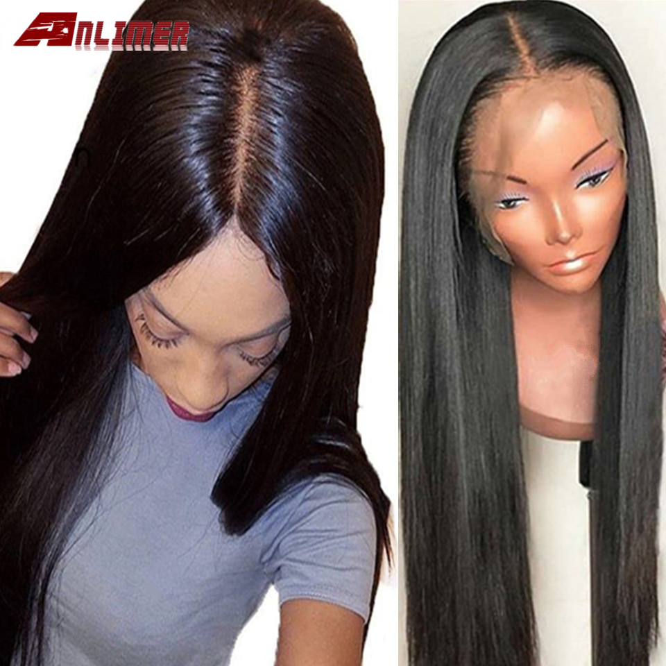 13x4/13x6 Lace Front Wig Straight Peruvian 8- 26 Inch Lace Front Human Hair Wigs For Black Women Pre Plucked Lace Frontal Wig