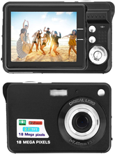 Komery cámara k9 Original, 3,5 pulgadas, LCD, 1800w, Pixel, 4X, Zoom Digital, lapso de tiempo, videocámaras de fotografía, garantía de tres años
