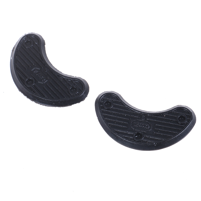 1Pair Shoe/Foot Care Black Shoes Heel Sole Sticker Anti-Wear Heel Liner Non Slip Rubber Shoes Heels Guard Stickers