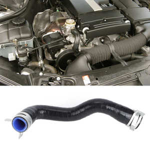 Turbochagrer Intake Pipe Repair Hose 2710901929 Fit for Mercedes-Benz W204 C180 C250 E200 E250 SLK200 with M271 Engine Rubber