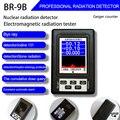 BR-9B Electromagnetic Radiation Nuclear Detector EMF Handheld LCD Digital Display Geiger Counter Full-functional Type Tester