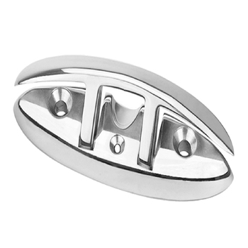 Marine Boat Dock Folding Cleat 316 Stainless Steel - 8.4 Inch