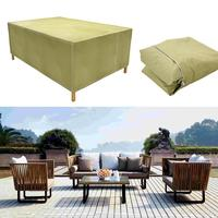 Home Waterproof Rectangular Outdoor Garden Table Home, Outdoor, Protection Dustproof, Furniture Cover