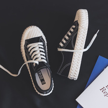 Mode frauen Vulkanisieren Schuhe Leinwand frauen Schuhe Atmungsaktiv Wohnungen Schnürsenkel Vulkanisierte Sport Schuhe Für Frauen Farbe Turnschuhe