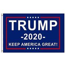 2020 bandeira para impresso donald manter américa grande presidente