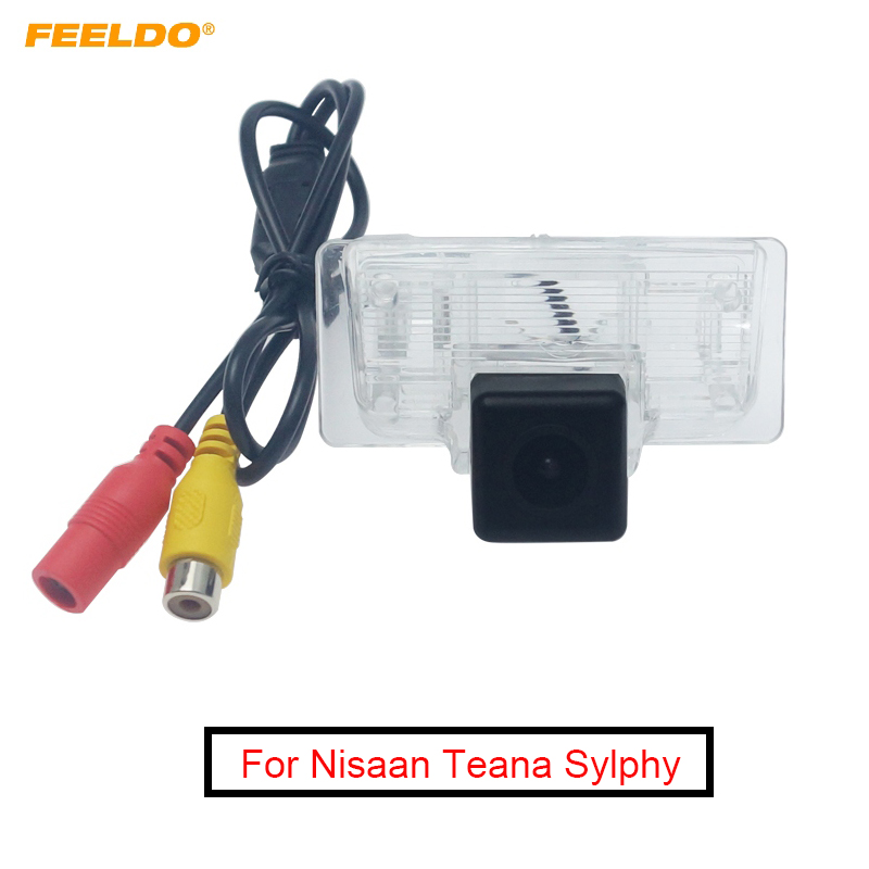FEELDO Waterproof Special Car Backup Rear View Camera For Nisaan Teana Sylphy Reversing Camera #FD6170|Vehicle Camera| |  - title=