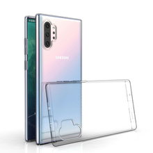 Case For Samsung Galaxy Note 10 Plus TPU Silicon Clear Fitted Bumper Soft Case for Samsung Galaxy Note 10 Plus 5G Back Cover