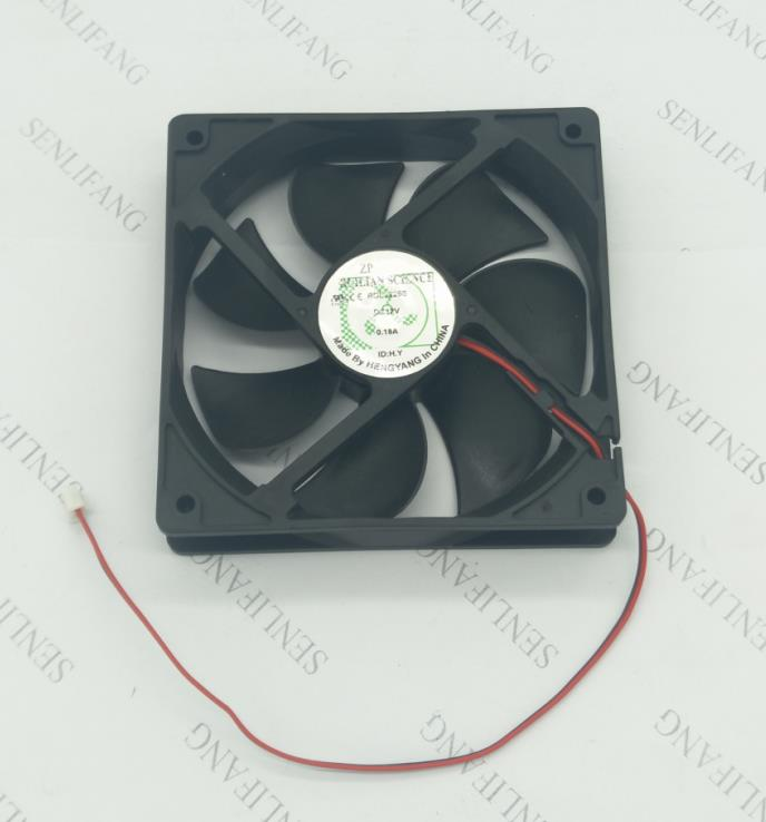 For RUILIAN SCIENCE RDL1225S 12V 0.18A 12025 12CM Chassis Quiet Fan+cooling Fan Free Shipping