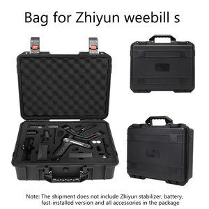 Image 4 - אחסון תיק מזוודת פיצוץ הוכחה תיבת נרתיק עבור Zhiyun Weebill S ערכת PTZ