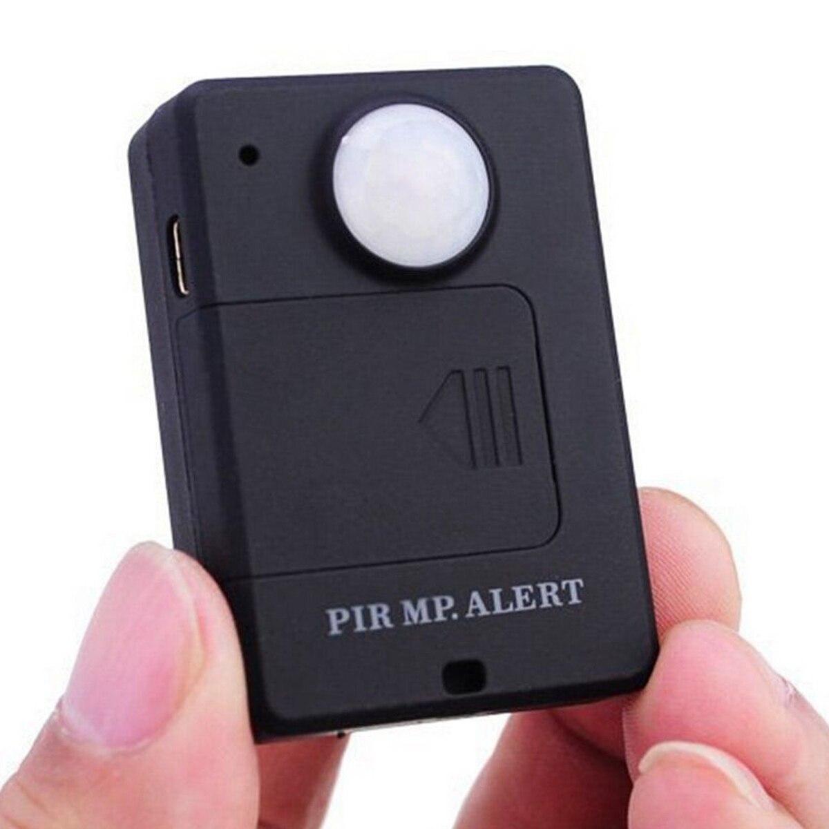 Mini GSM Alarm PIR Alarm z czujnikiem ruchu podczerwieni bezprzewodowy Alarm GSM z zabezpieczeniem przeciw kradzieży wykrywacz ruchu o wysokiej czułości