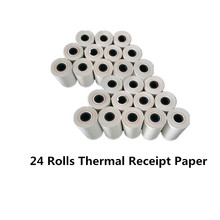 GOOJPRT 57x30mm Thermal Receipt Paper for Mini 58mm Inkless Wireless Bluetooth Thermal Receipt Printers PT200 PT210 MTP-II QR701 cheap Black and White Manual 4ppm 100-240V For Home Use None Universal ticket printer 1 5kg 300dpi Shop s Three Guarantees 2015